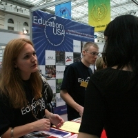 """Moscow International fair """"Education and Career"""": Education Abroad, Foreign Languages. Photo 13."""