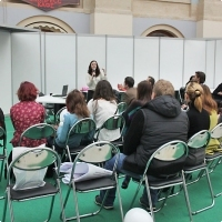 """Moscow International fair """"Education and Career"""": Area of career opportunities. Photo 1."""