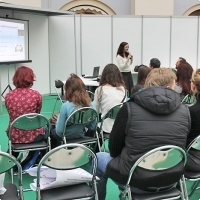 """Moscow International fair """"Education and Career"""": Area of career opportunities. Photo 2."""