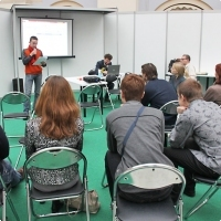 """Moscow International fair """"Education and Career"""": Area of career opportunities. Photo 4."""