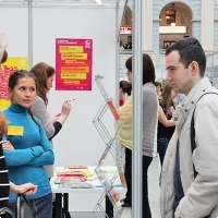 """Moscow International fair """"Education and Career"""": Education Abroad, Foreign Languages. Photo 16."""