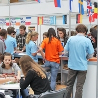 """Moscow International fair """"Education and Career"""": Education Abroad, Foreign Languages. Photo 22."""
