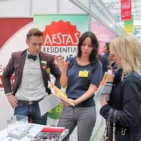 """Moscow International fair """"Education and Career"""": Education Abroad, Foreign Languages. Photo 23."""