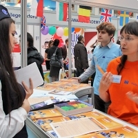 """Moscow International fair """"Education and Career"""": Education Abroad, Foreign Languages. Photo 25."""