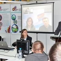 """Moscow International fair """"Education and Career"""": Teleconference. Photo 4."""