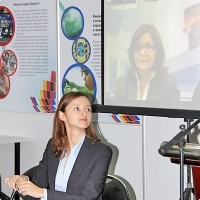"""Moscow International fair """"Education and Career"""": Teleconference. Photo 5."""
