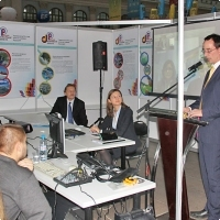 """Moscow International fair """"Education and Career"""": Teleconference. Photo 6."""