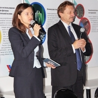 """Moscow International fair """"Education and Career"""": Teleconference. Photo 20."""