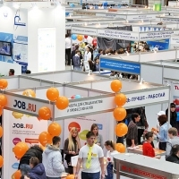 "Moscow International fair ""Education and Career"": Area of career opportunities. Photo 8."