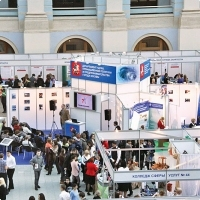 "Moscow International fair ""Education and Career"": Job fair and internship. Photo 11."