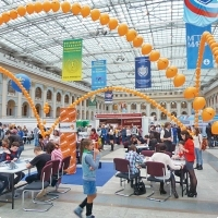 "Moscow International fair ""Education and Career"": Testing the Unified State Exam. Photo 6."