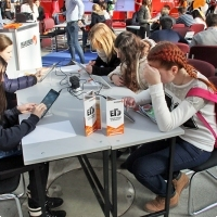 "Moscow International fair ""Education and Career"": Testing the Unified State Exam. Photo 15."