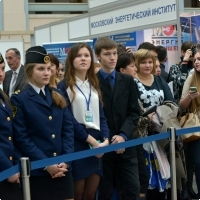 "Moscow International fair ""Education and Career"": The opening ceremony. Photo 1."