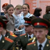 "Moscow International fair ""Education and Career"": The opening ceremony. Photo 3."