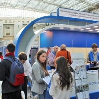 "Moscow International fair ""Education and Career"": Higher education in Russia. Photo 17."