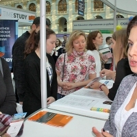 """Moscow International fair """"Education and Career"""": Education Abroad, Foreign Languages. Photo 14."""