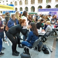 """Moscow International fair """"Education and Career"""": Vocational Education in Russia. Photo 2."""