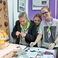 """Moscow International fair """"Education and Career"""": Vocational Education in Russia. Photo 18."""