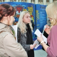 """Moscow International fair """"Education and Career"""": Vocational Education in Russia. Photo 20."""