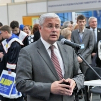 """Moscow International fair """"Education and Career"""": The opening ceremony. Photo 9."""