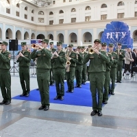 """Moscow International fair """"Education and Career"""": The opening ceremony. Photo 16."""