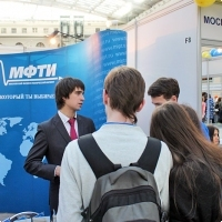"""Moscow International fair """"Education and Career"""": Higher education in Russia. Photo 10."""