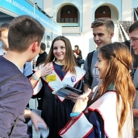 """Moscow International fair """"Education and Career"""": Higher education in Russia. Photo 26."""