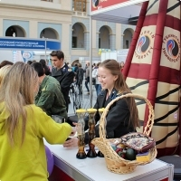 """Moscow International fair """"Education and Career"""": Higher education in Russia. Photo 28."""