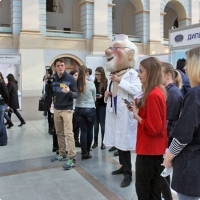 """Moscow International fair """"Education and Career"""": Higher education in Russia. Photo 46."""