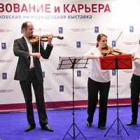 "Moscow International fair ""Education and Career"": The opening ceremony. Photo 10."