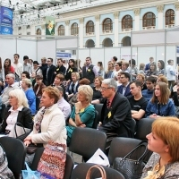"Moscow International fair ""Education and Career"": Entertainment area. Photo 10."
