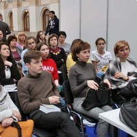 "Moscow International fair ""Education and Career"": Entertainment area. Photo 13."