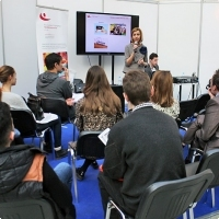 "Moscow International fair ""Education and Career"": Presentations, seminars, master classes. Photo 18."