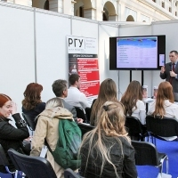 "Moscow International fair ""Education and Career"": Presentations, seminars, master classes. Photo 22."