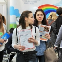 "Moscow International fair ""Education and Career"": Higher education in Russia. Photo 42."