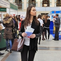 "Moscow International fair ""Education and Career"": Higher education in Russia. Photo 43."