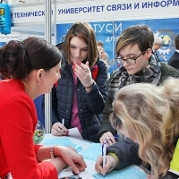 "Moscow International fair ""Education and Career"": Higher education in Russia. Photo 75."