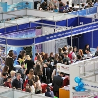 "Moscow International fair ""Education and Career"": Higher education in Russia. Photo 78."