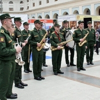 """Moscow International fair """"Education and Career"""": The opening ceremony. Photo 2."""