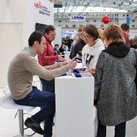 """Moscow International fair """"Education and Career"""": Higher education in Russia. Photo 11."""