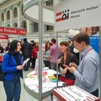 """Moscow International fair """"Education and Career"""": Education Abroad, Foreign Languages. Photo 18."""