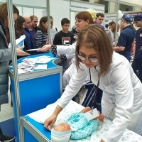 """Moscow International fair """"Education and Career"""": Vocational Education in Russia. Photo 14."""