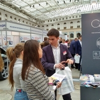 """Moscow International fair """"Education and Career"""": Higher education in Russia. Photo 12."""