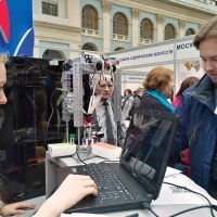 """Moscow International fair """"Education and Career"""": Higher education in Russia. Photo 20."""
